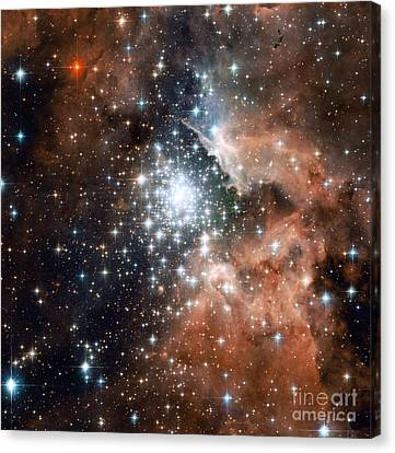 Ngc 3603, Star Cluster Canvas Print
