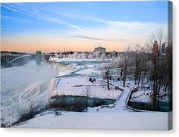 Niagara Falls 3d22213 Canvas Print by Guy Whiteley