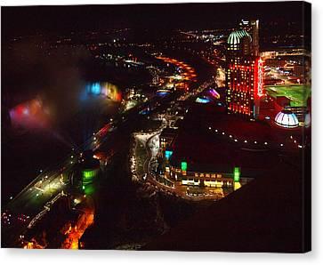 Niagara Falls Overview Canvas Print by Robert Watcher