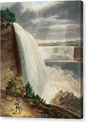 Niagara Falls Canvas Print by HJ Bennett