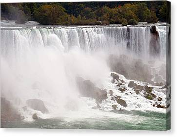 Niagara Falls Canvas Print by Paul Van Baardwijk