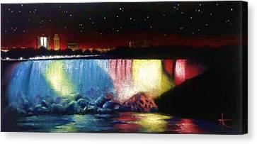 Niagara Falls Canvas Print by Thomas Kolendra