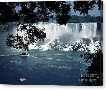 Canvas Print featuring the photograph Niagara Falls by Tom Brickhouse