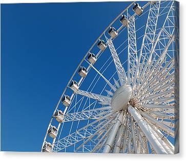 Niagara Sky Wheel Canvas Print by Rob Amend