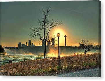 Niagara Sunset Canvas Print