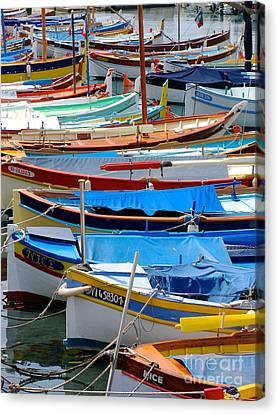 Nice Boats  Canvas Print