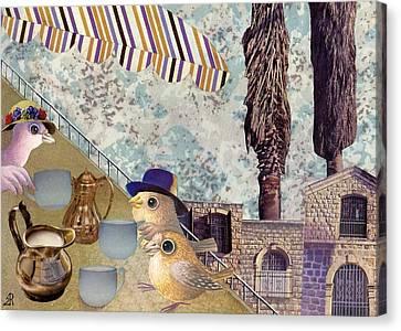 Jerusalem Canvas Print - Nice Cups Of Tea by Nekoda  Singer