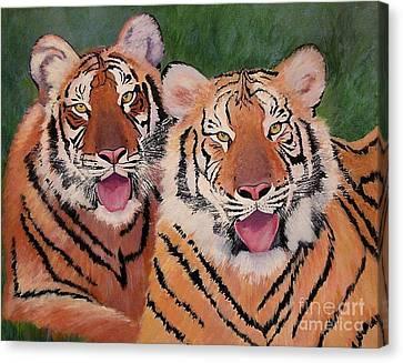 Nice Kitty Canvas Print