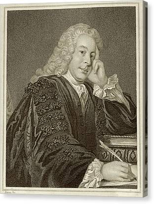 Nicholas Hardinge Canvas Print by Middle Temple Library