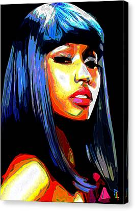 Nicki Minaj Canvas Print by  Fli Art