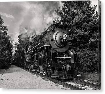 Nickel Plate Berkshire 765 Canvas Print