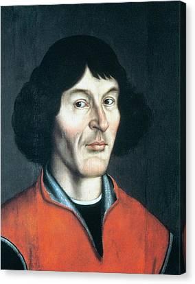 Nicolas Copernicus Canvas Print