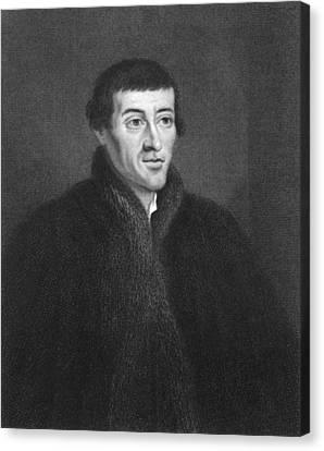 Nicolaus Copernicus Engraving Canvas Print