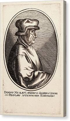 Nicolaus Copernicus Canvas Print