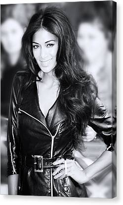 Nicole Scherzinger 20 Canvas Print by Jez C Self