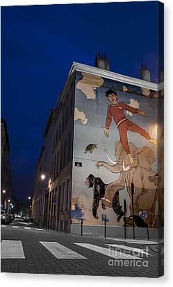 Bandes Dessinees Canvas Print - Nic's Dreams by Juli Scalzi