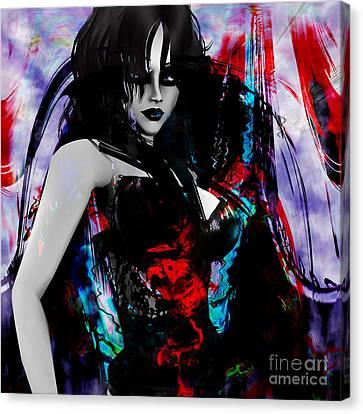 Canvas Print - Night by Ashantaey Sunny-Fay