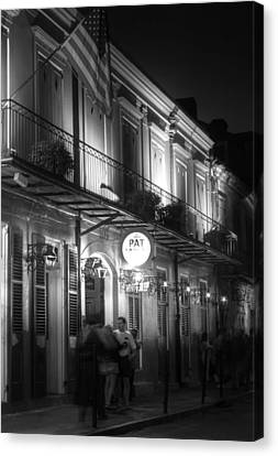 Night At Pat O'brien's Canvas Print