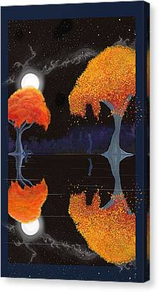 Night Companions  Canvas Print