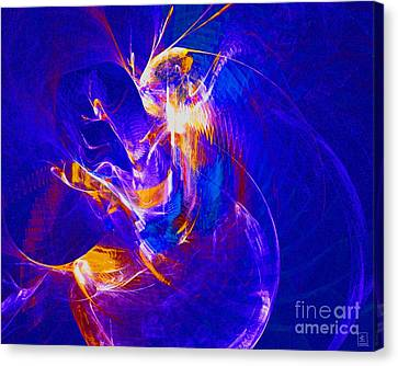Night Dancer 2 Canvas Print by Jeanne Liander