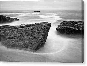 Canvas Print featuring the photograph Night Fall by Jonathan Nguyen