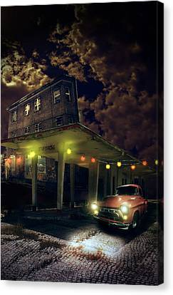 Night Fill Canvas Print by Nathan Wright