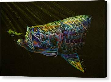 Night Fly Canvas Print by Yusniel Santos