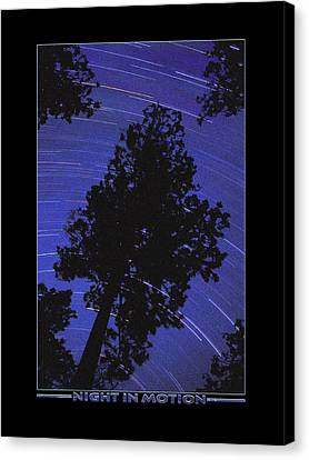 Trace Canvas Print - Night In Motion by Mike McGlothlen
