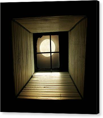 extra large canvas print night light by amy tyler