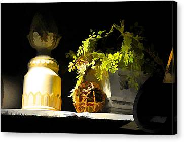 Night Light Canvas Print by Jan Amiss Photography