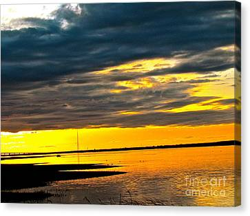 Night Meets Day Canvas Print by Q's House of Art ArtandFinePhotography