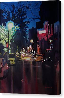 Night Moves  Canvas Print by Kris Parins