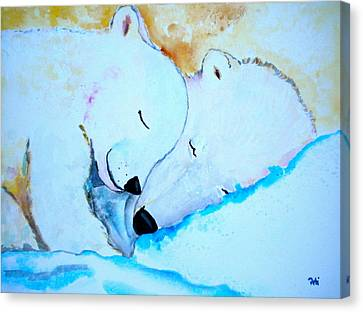 Night Night Canvas Print by Debi Starr