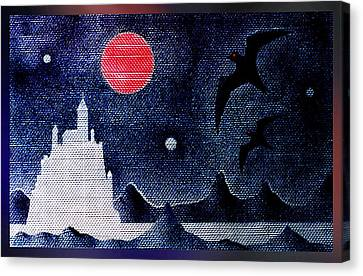 Night Of The Blood Moon Canvas Print by Hartmut Jager