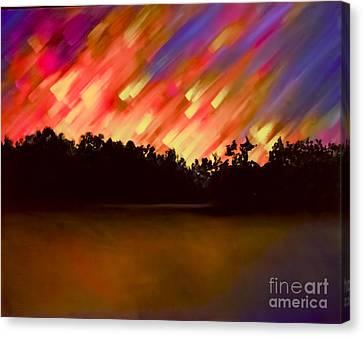 Night Of Wonder Canvas Print