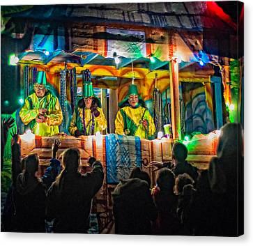Night Parade 2 Canvas Print by Steve Harrington