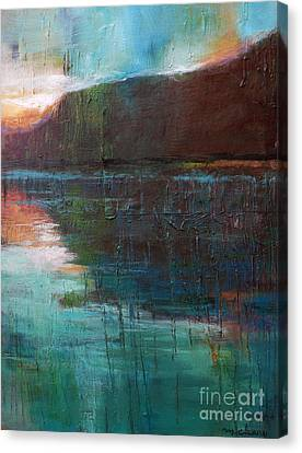 Night Passage Canvas Print by Melody Cleary