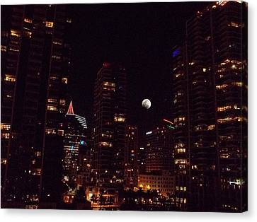 Night Passage - San Diego Canvas Print