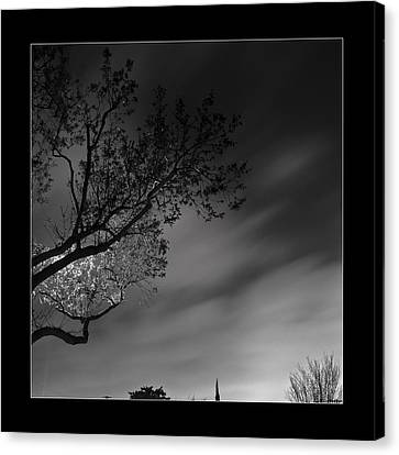 Canvas Print featuring the photograph Night Passing by Kevin Bergen