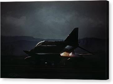 Night Phantom Canvas Print by Peter Chilelli