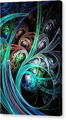 Night Phoenix Canvas Print