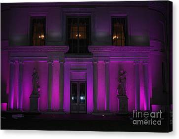 Canvas Print featuring the photograph Night Purple by George Mount