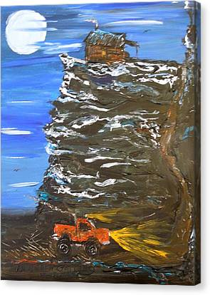Night Shack Canvas Print