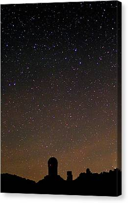 Night Sky Over Kitt Peak Observatory Canvas Print by Babak Tafreshi