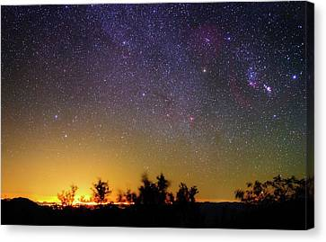 Night Sky Over Tucson Canvas Print by Babak Tafreshi