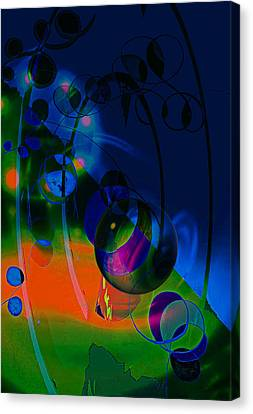 Night ...sracts Canvas Print by Allen Beilschmidt