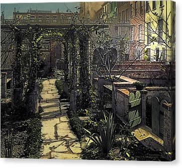 Night Canvas Print by Terry Reynoldson