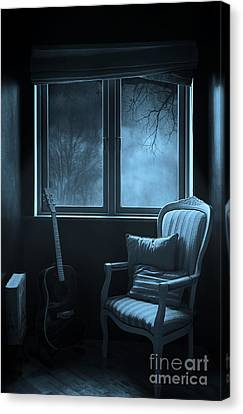 Night Time Story Room Canvas Print by Svetlana Sewell