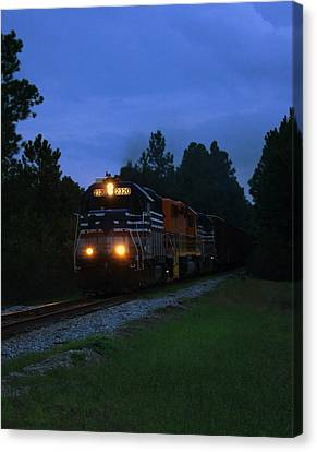 Night Train Canvas Print by Paul  Wilford