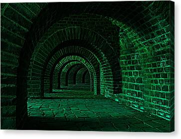 Cabin Wall Canvas Print - Night Walk In The Underworld by Movie Poster Prints